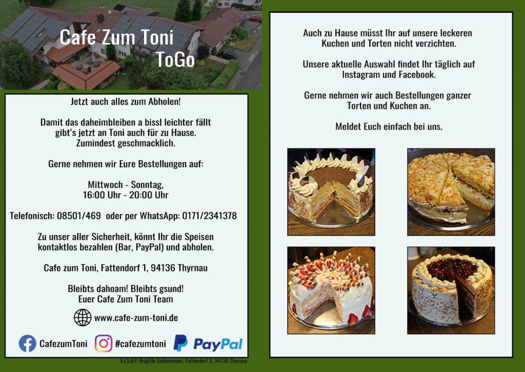 Cafe zum Toni ToGo